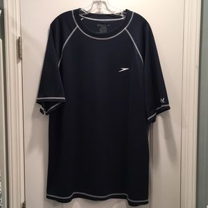 Speedo Men's Swim Shirt with UV protection
